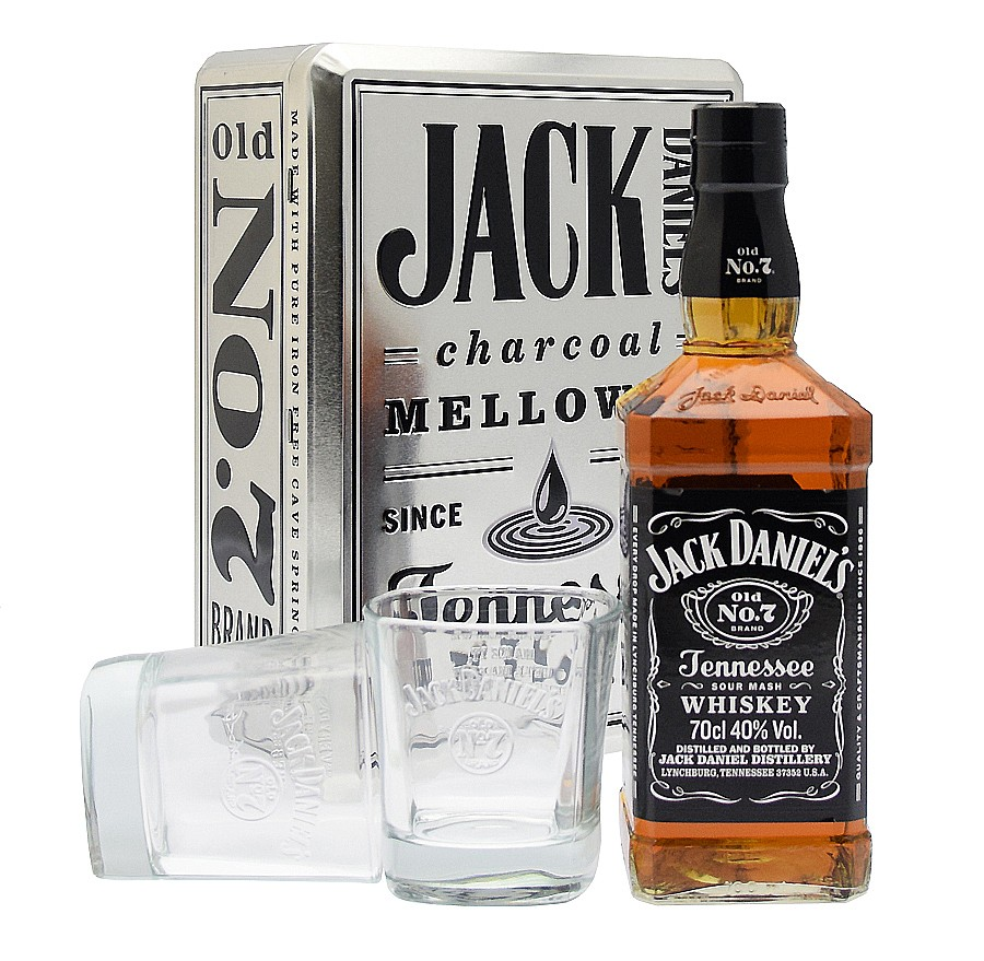 coffret jack daniel s avec 2 verres n 7 70cl smokehouse traiteur bbq am ricain restaurant. Black Bedroom Furniture Sets. Home Design Ideas